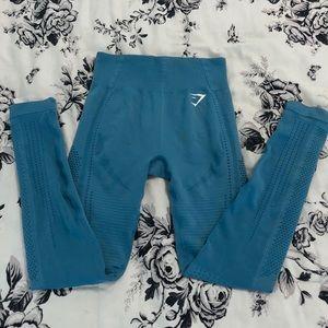 Sea Blue Flawless Knit Tights